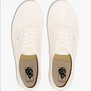 Cream OG Authentic LX Palm Print Sneakers- 5.5